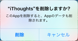 iThoughtsのバックアップ
